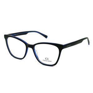 Charles Delon Cat Eye Style Blue/Black Frame